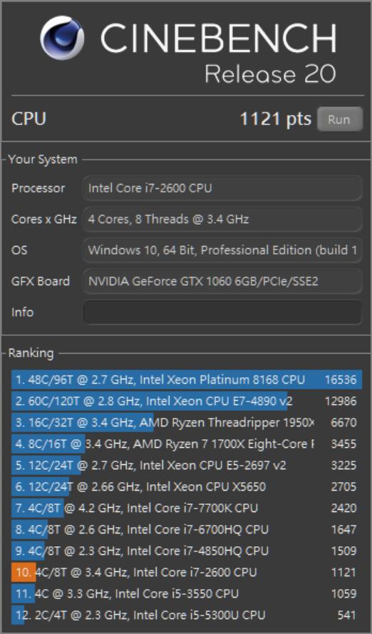 升級桌機電腦 (Ryzen 3700x + 64Gb DDR4 DRAM) 後的效能比較 (原 i7-2600 + 32Gb DDR3 DRAM)
