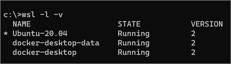 Docker Desktop UI