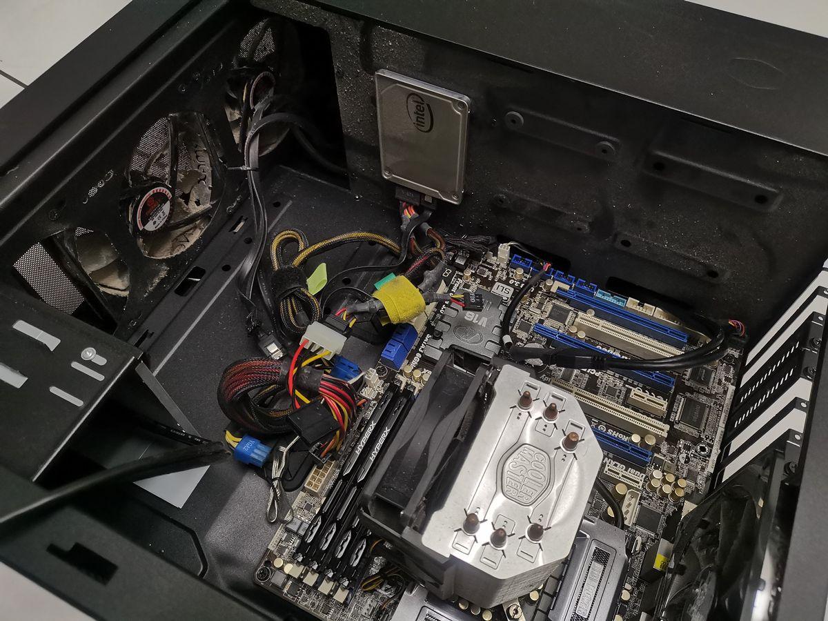 電腦桌機升級 AMD Ryzen 3700x-05