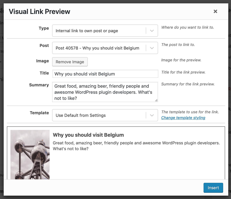 在 WordPress 文章內顯示如 Facebook 鏈結預覽效果 – 安裝 Visual Link Preview 插件