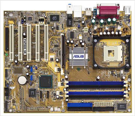 主機板-Asus P4P800 SE
