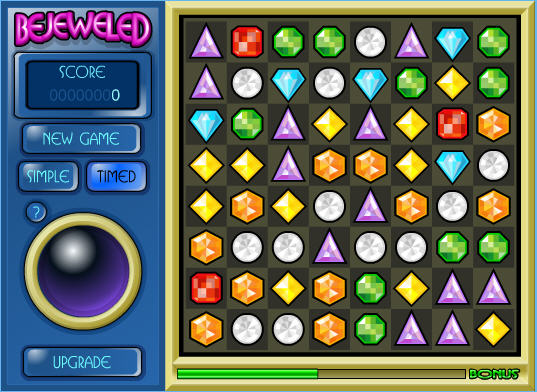 msn 的寶石方塊遊戲