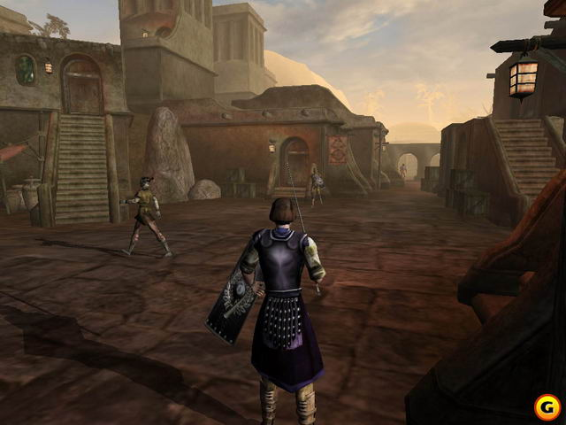 Morrowind Screenshot town-1