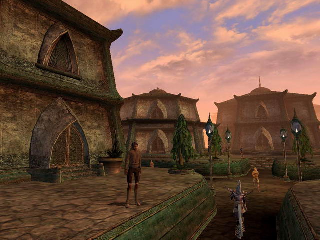 Morrowind Screenshot town-3